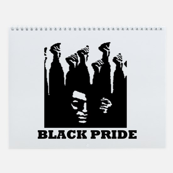 Black Pride Wall Calendar