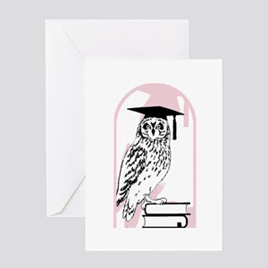 Smart Owl Greeting Card