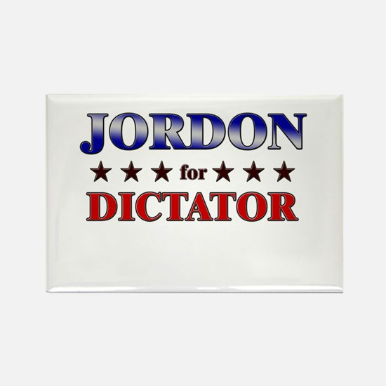 JORDON for dictator Rectangle Magnet