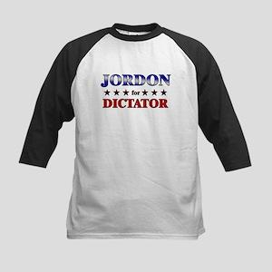 JORDON for dictator Kids Baseball Jersey