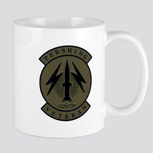 Pershing Veteran (subdued) Mugs