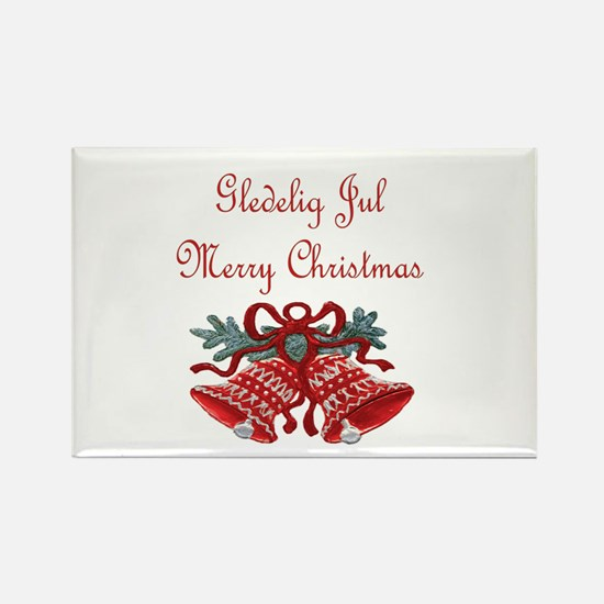 Norway Christmas Rectangle Magnet