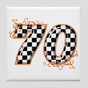 RaceFashion.com 70 Tile Coaster