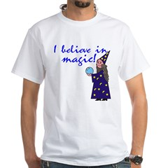 Magic Belief Wizard White T-Shirt