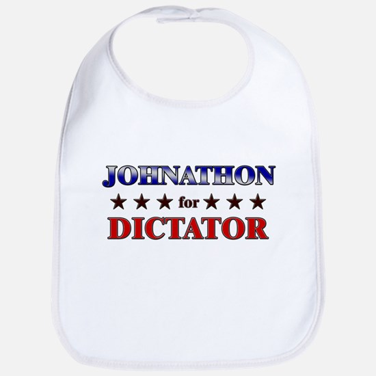 JOHNATHON for dictator Bib