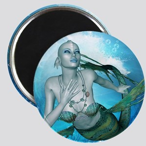 Underwater, wonderful mermaid Magnets