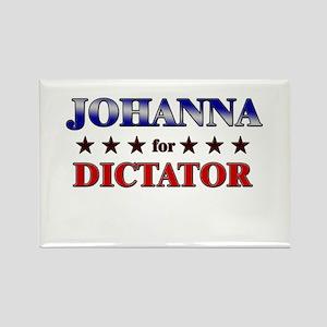 JOHANNA for dictator Rectangle Magnet