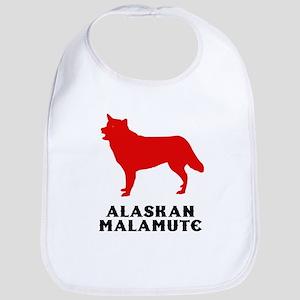 Alaskan Malamute Bib