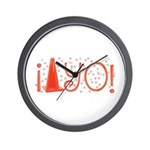 Cone-yo Wall Clock