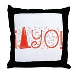 Cone-yo Throw Pillow