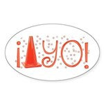 Cone-yo Oval Sticker