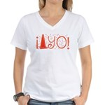 Cone-yo Women's V-Neck T-Shirt