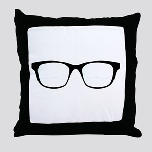 Pair Of Optical Glasses Throw Pillow