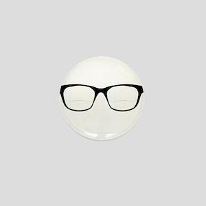 Pair Of Optical Glasses Mini Button