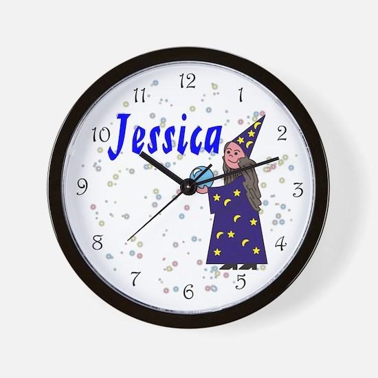 Jessica Wall Clock