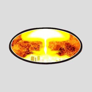 Atomic Bomb Heat Background Patch