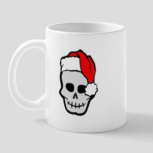 Christmas Santa Skull Mug