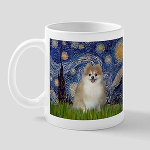 Starry / Pomeranian Mug