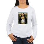 Mona/Pomeranian (#1) Women's Long Sleeve T-Shirt