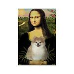 Mona/Pomeranian (#1) Rectangle Magnet