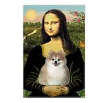 Mona/Pomeranian (#1) Postcards (Package of 8)