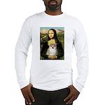 Mona/Pomeranian (#1) Long Sleeve T-Shirt