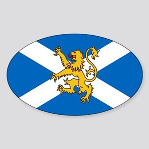 Flag of Scotland - Lion Rampant Sticker