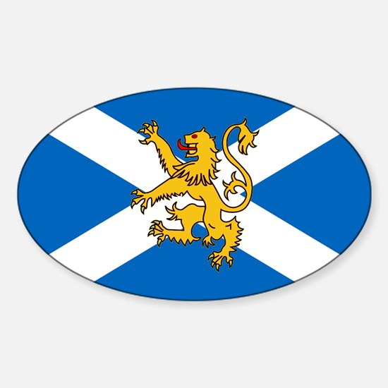 Flag of Scotland - Lion Rampant Decal