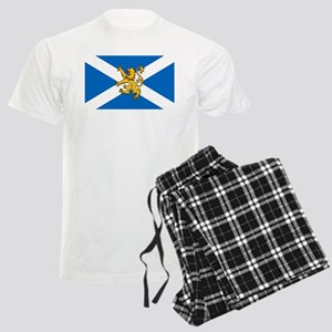 Flag of Scotland - Lion Rampa Men's Light Pajamas