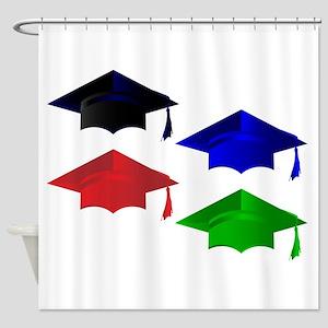 Degree Pass Caps Shower Curtain