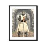 Knight Templar 01 Framed Panel Print