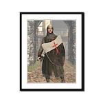 Templar Sergeant Framed Panel Print