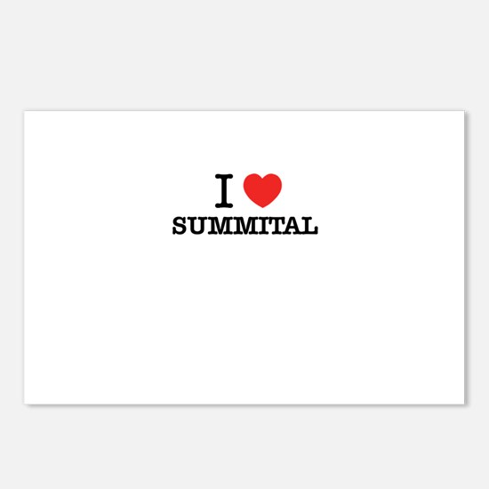 I Love SUMMITAL Postcards (Package of 8)