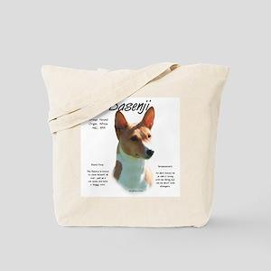 Basenji (chestnut) Tote Bag