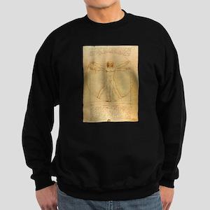Leonardo Da Vinci Vitruvian Man Sweatshirt