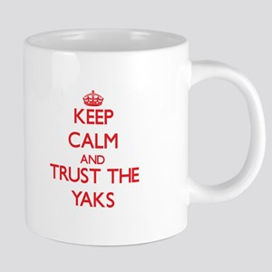 Keep calm and Trust the Yaks Mugs