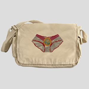 Florida Flag Knickers Messenger Bag