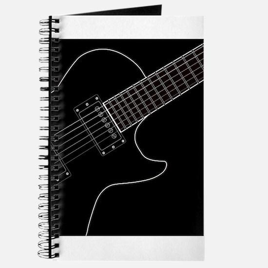 Electric Guitar Close Up Journal