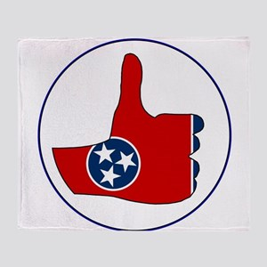 Thumbs Up Tennessee Throw Blanket