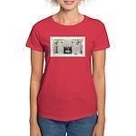 Keeshond - Christmas Women's Dark T-Shirt