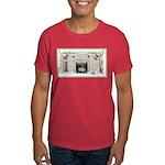 Keeshond - Christmas Dark T-Shirt