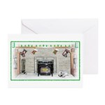 Keeshond - Christmas Greeting Cards (Pk of 20)