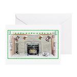 Keeshond - Christmas Greeting Cards (Pk of 10)