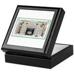 Keeshond - Christmas Keepsake Box