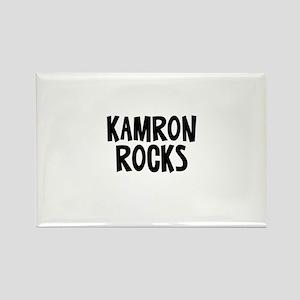 Kamron Rocks Rectangle Magnet