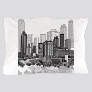 Atlanta, Georgia Art Pillow Case