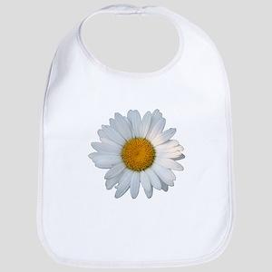 White daisy Bib
