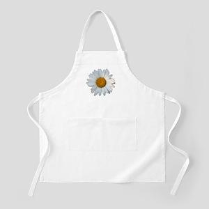 White daisy BBQ Apron