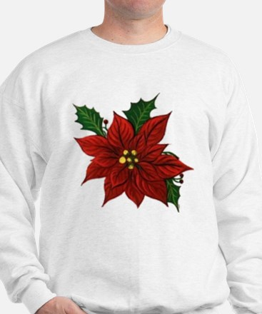 Poinsettia Sweatshirt