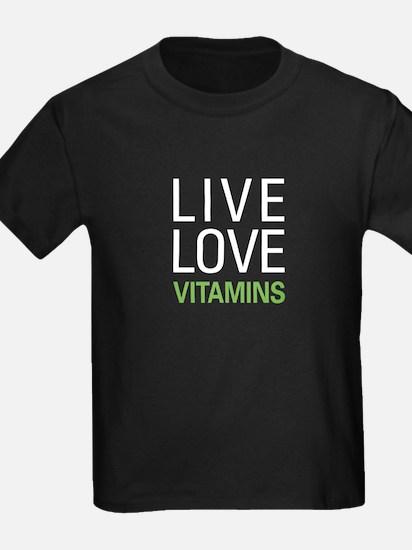 Live Love Vitamins T